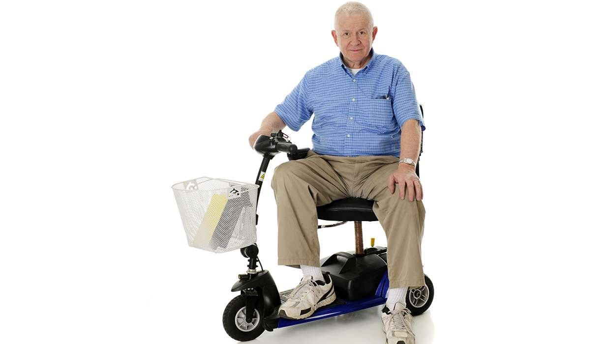 motor wheelchair