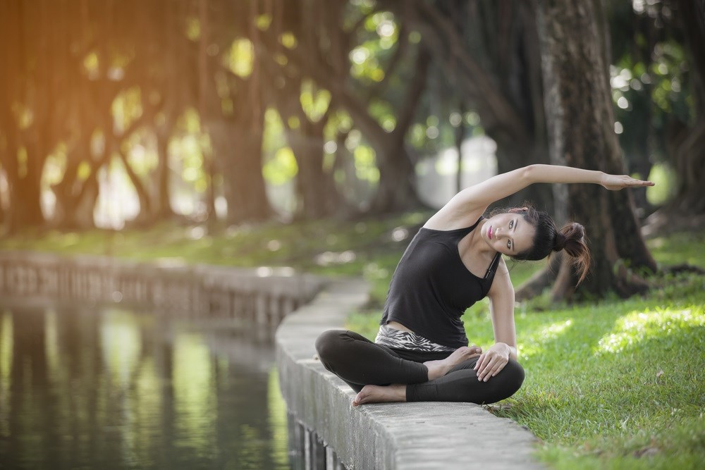 Patients who added yoga to a healthy lifestyle experienced a decrease in their blood pressure levels.