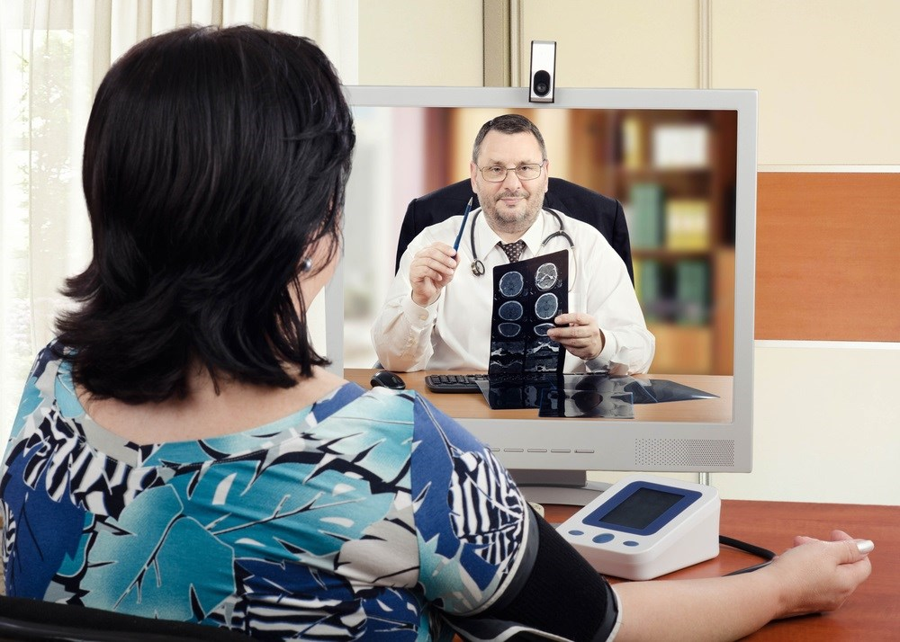 Patient evaluations performed through teleconferencing may lack the accuracy of a physical exam.