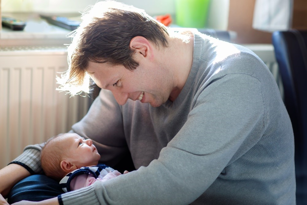 Postpartum Depression Also Found Among New Fathers