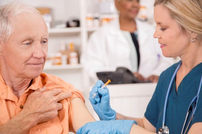 High-Dose Flu Vaccine Reduces Respiratory Illness in Nursing Home Residents