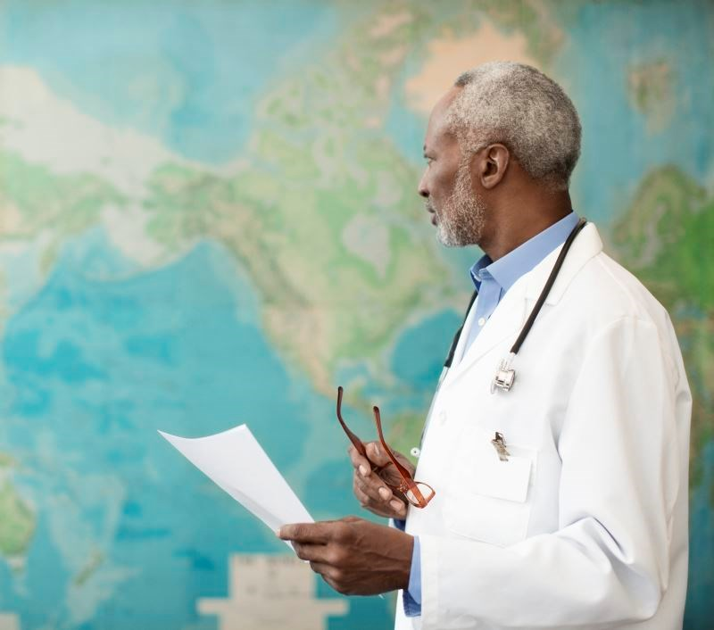The world needs doctors, no matter what language we speak, because the people you'll be helping out will be more than grateful to even be seeing a doctor in the first place.