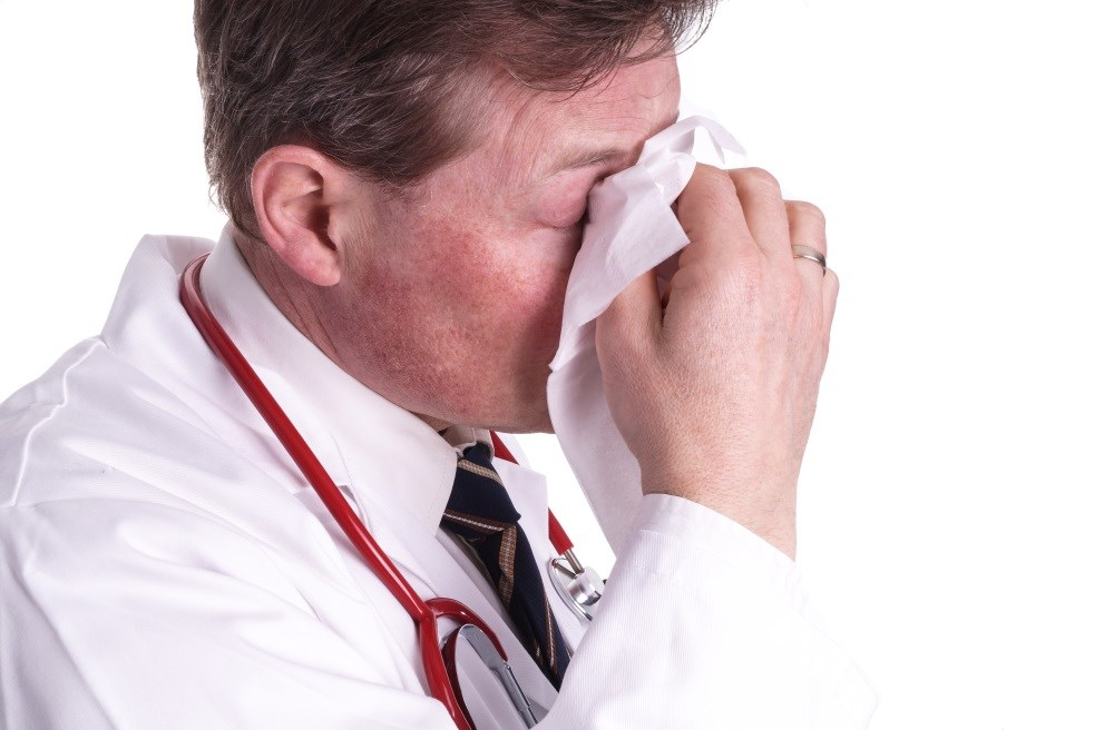 Many Healthcare Professionals Work While Sick With Influenza-Like Illness