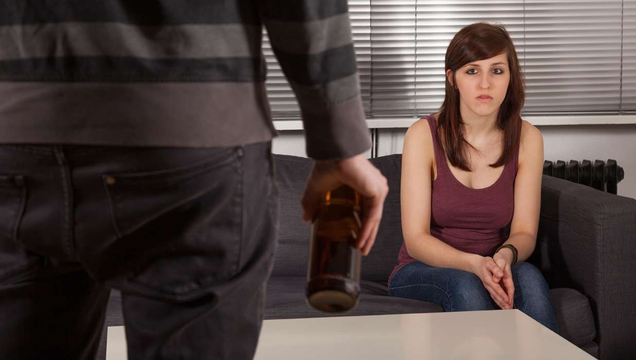 Link Between Domestic Violence and Alcohol, Not Marijuana