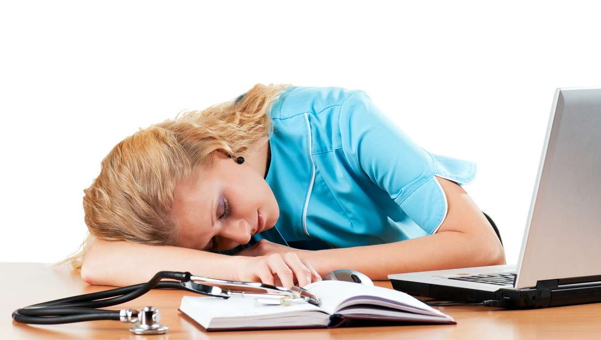 nursing burnout Nurse burnout goes beyond feeling tired or experiencing a bad day at work it is defined as emotional, mental, and physical exhaustion caused by excessive and prolonged stress.