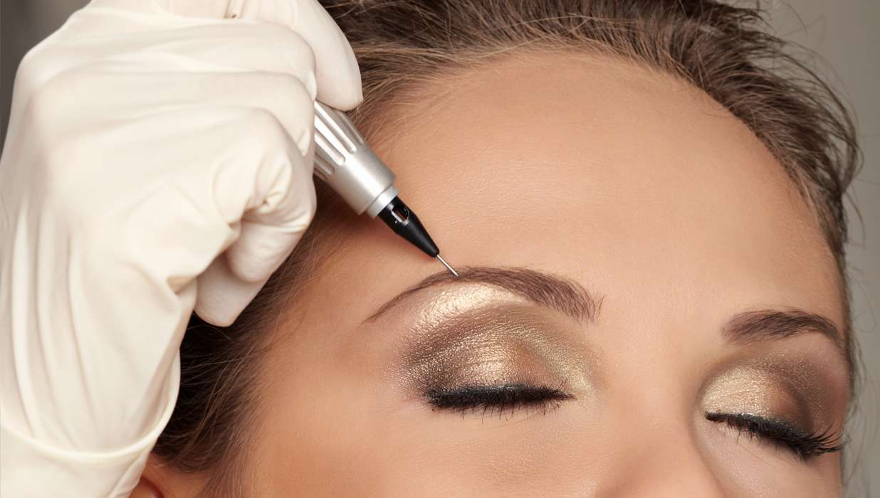 permanent makeup apply it once then fuhgetaboutit for