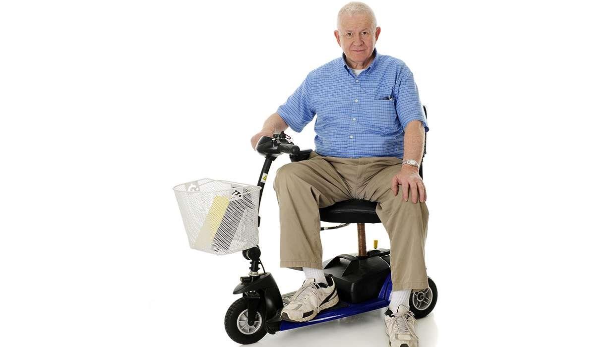 motor wheelchair