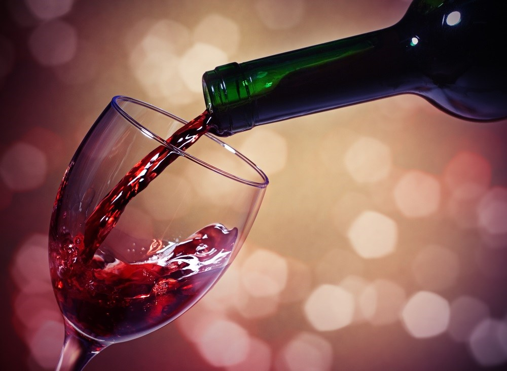 Compared with abstinence from alcohol, increased survival seen with moderate drinking.