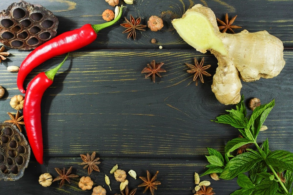 Compounds Found in Ginger and Pepper Have Additive Benefits in Cancer Prevention