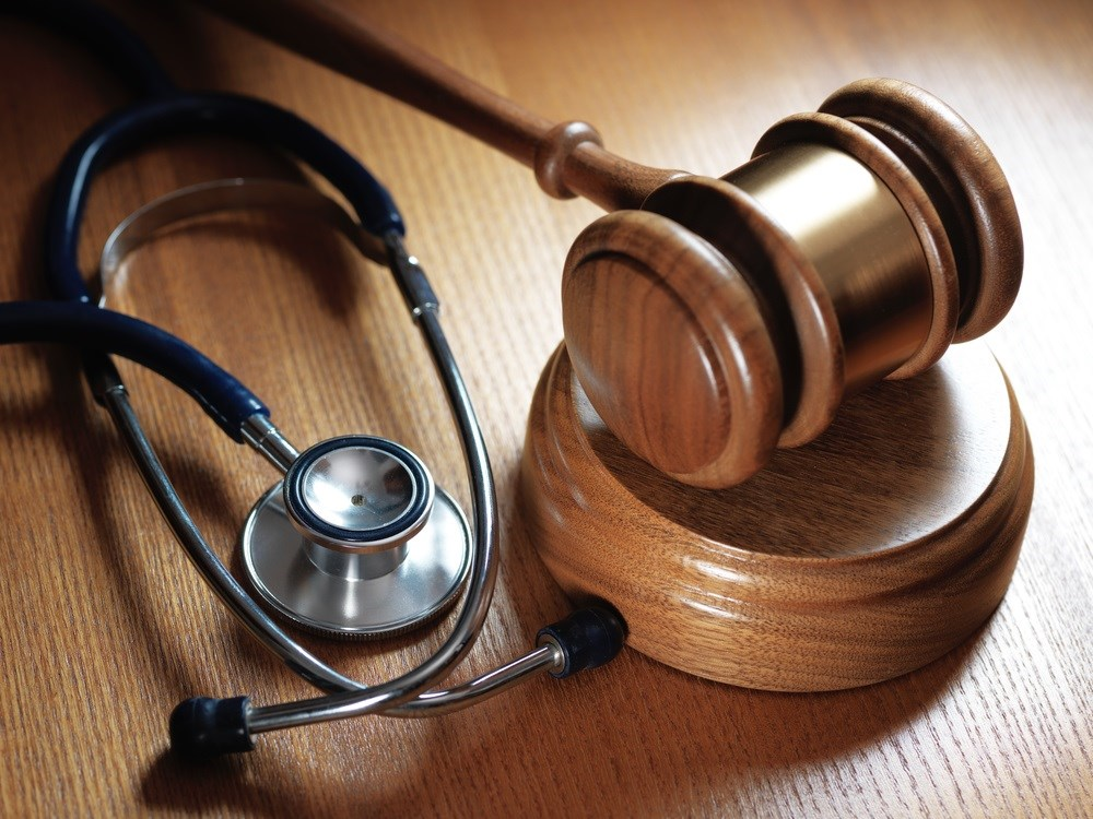 The answer to the question regarding legal responsibility seems to revolve around the issue of whether or not a physician-patient relationship exists.