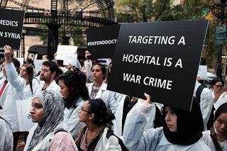 A total of 938 people were directly harmed in 402 incidents of violence against health care in Syria.