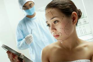 The process was a little bit like Uber or Taskrabbit, but for plastic surgery.