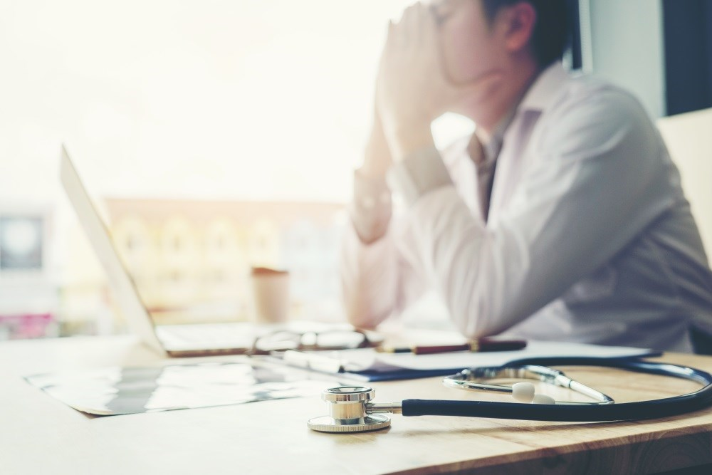 Some studies estimate that up to 50% of practicing physicians are experiencing symptoms of burnout.