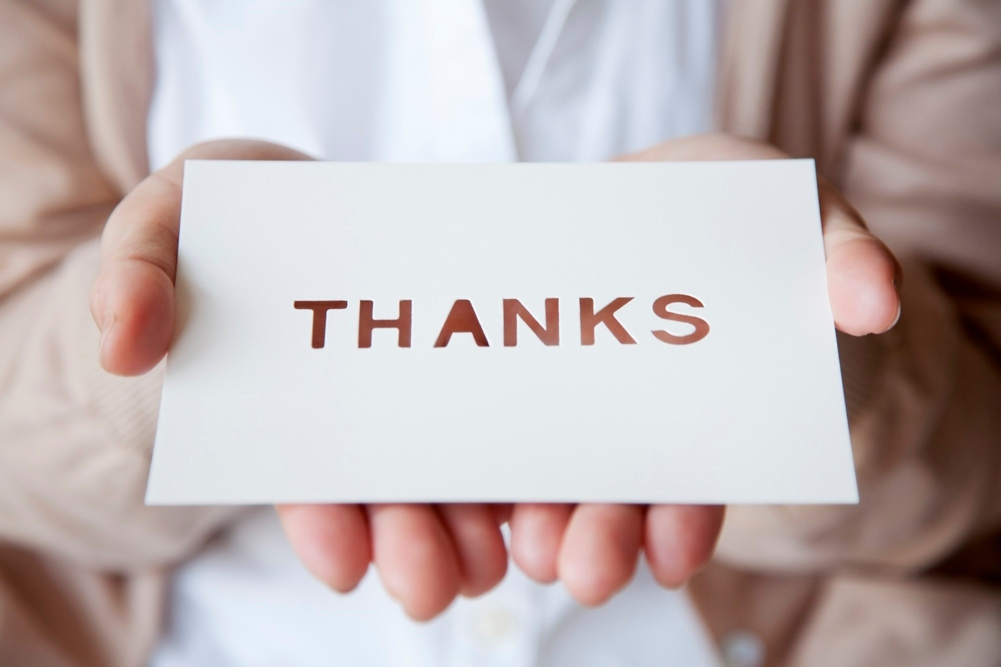 Give Thanks: The Role of Gratitude in Combating Burnout