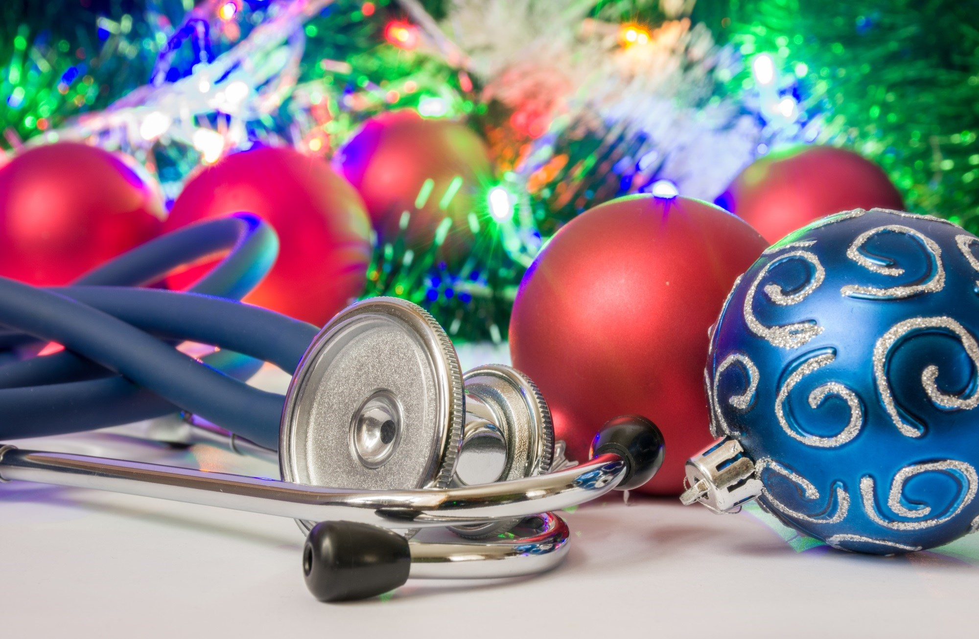 For many physicians, working during the holiday season is simply part of the job.